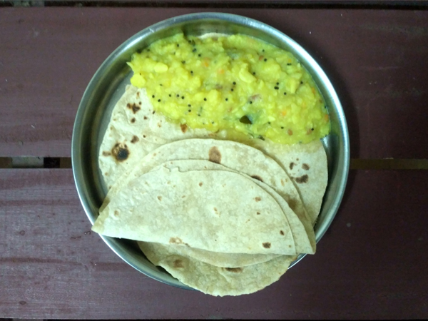 chapati-lockdown-food