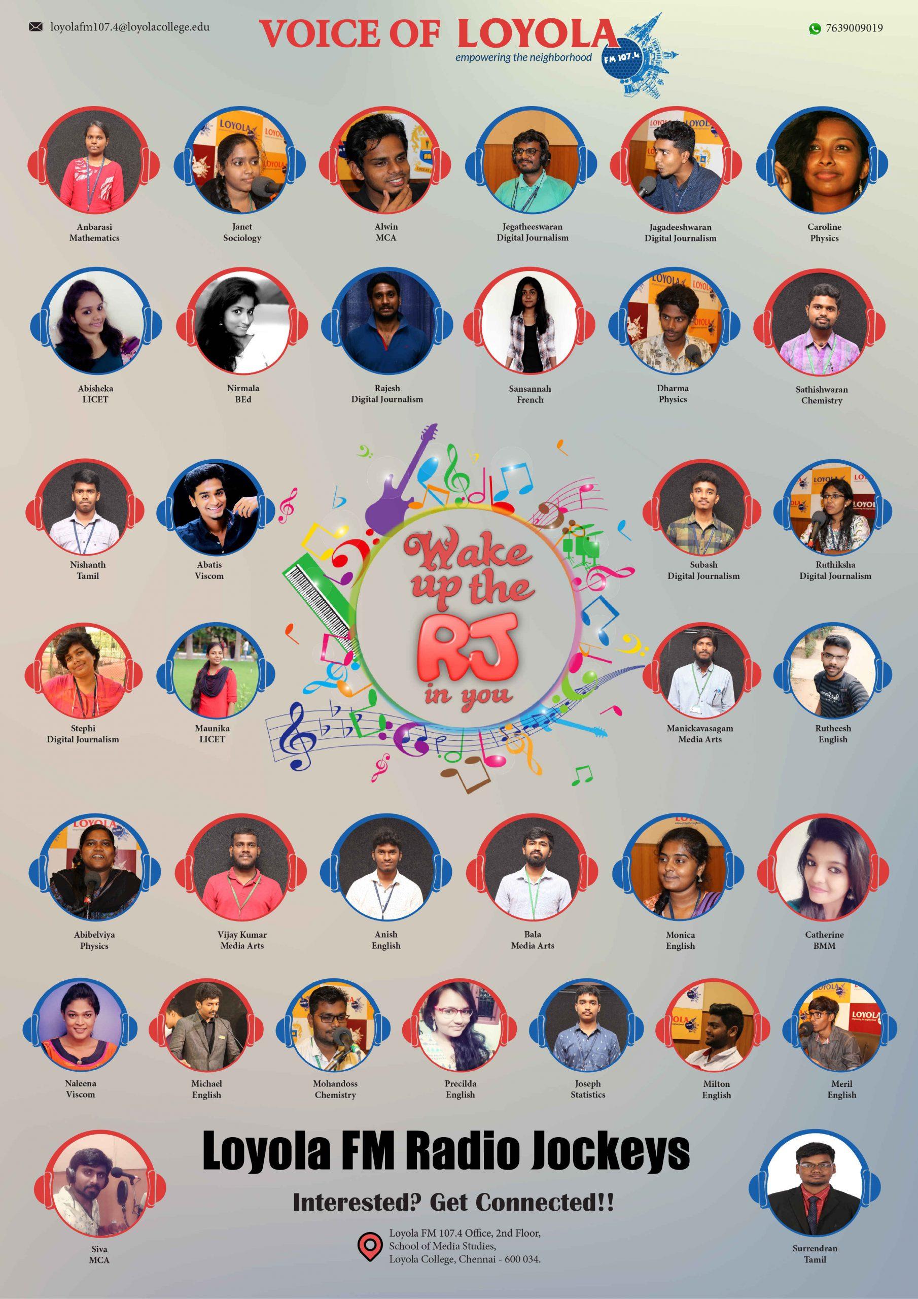 Loyola-fm-radio-poster-portfolio-ganesh-shanker