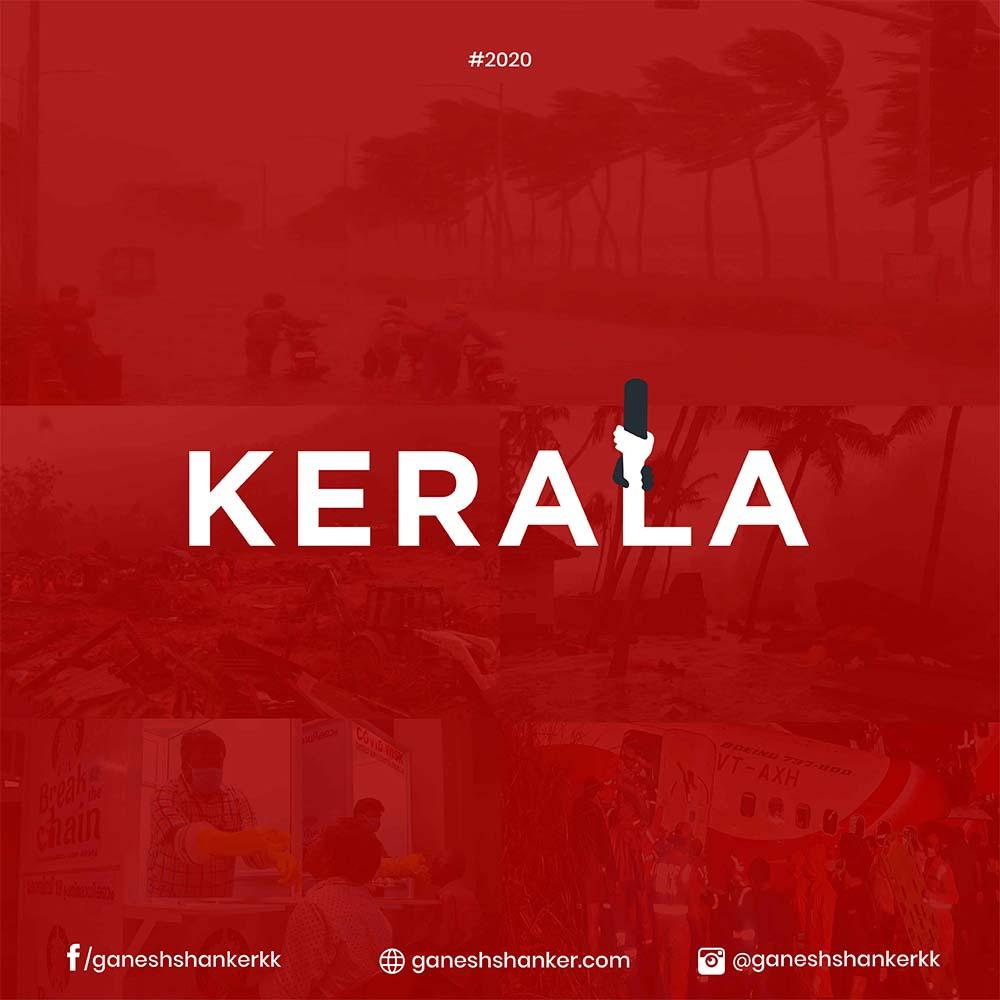 Kerala-typography-ganesh-shanker